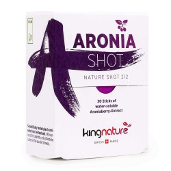 Image of Aronia Shot, 30 Aronia Sticks, kingnature